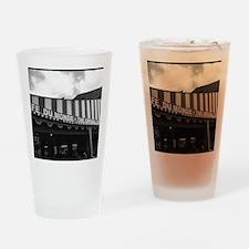 cafe du monde, new orleans Drinking Glass