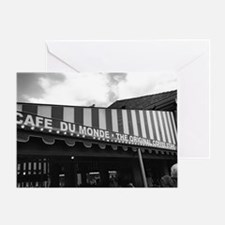 cafe du monde, new orleans Greeting Card