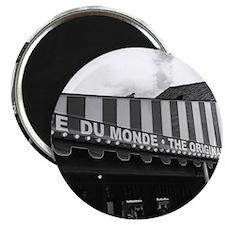 cafe du monde, new orleans Magnet