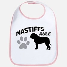 Mastiffs Rule Bib