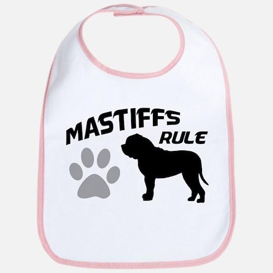 Mastiffs Rule Bib