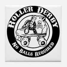 No Balls Required Tile Coaster