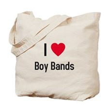 I love boy bands Tote Bag