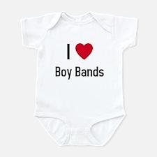 I love boy bands Infant Bodysuit
