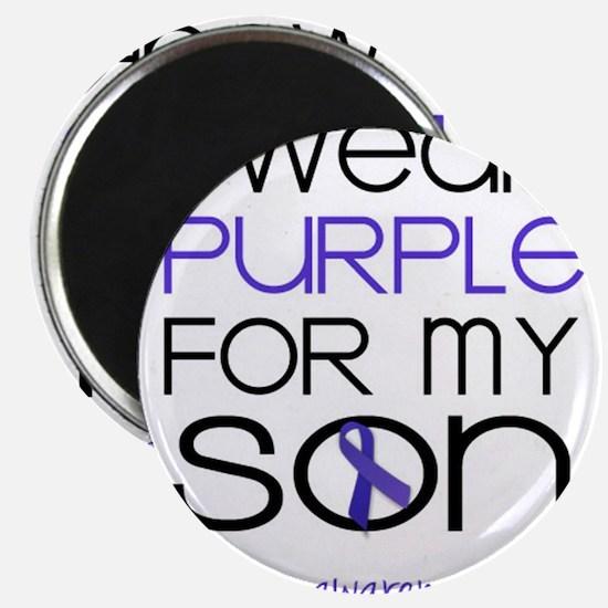 Wear Purple for Son - Epilepsy Magnet