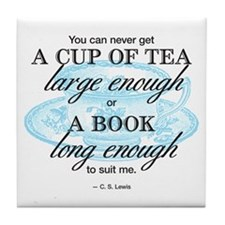 Tea Quote Tile Coaster