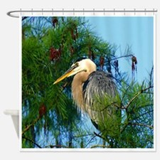 Heron Everglades National Park Shower Curtain