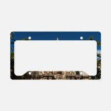 Balboa Park Facades License Plate Holder