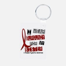 Multiple Myeloma I Wear Bu Aluminum Photo Keychain