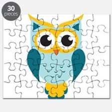 Teal Owl Puzzle