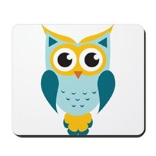 Teal Owl Mousepad