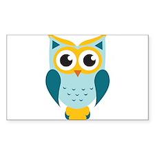 Teal Owl Decal