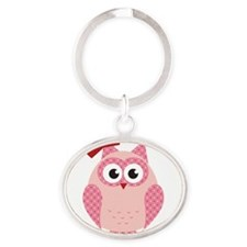 Owl with Bow Keychains