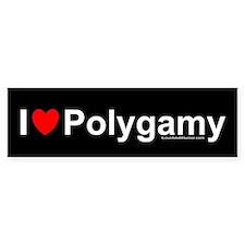 Polygamy Bumper Sticker