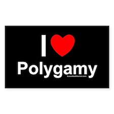 Polygamy Decal