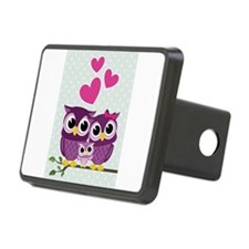 Owl Family Hitch Cover
