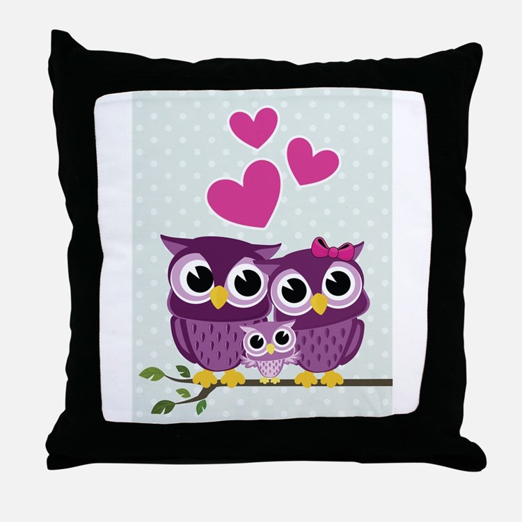Throw Pillows With Owls : Cute Owls Pillows, Cute Owls Throw Pillows & Decorative Couch Pillows
