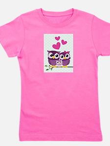 Owl Family Girl's Tee