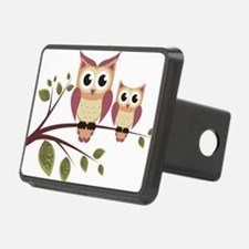Duo of Owls Hitch Cover