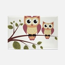 Duo of Owls Magnets