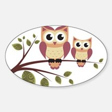 Duo of Owls Decal