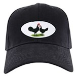 Whitefaced Spanish Chickens Black Cap