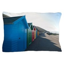 Beach huts Pillow Case