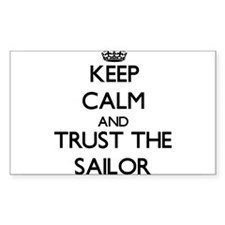 Keep Calm and Trust the Sailor Decal