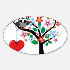 Spring Owl Decal