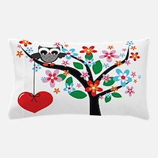 Spring Owl Pillow Case