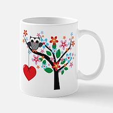 Spring Owl Mugs