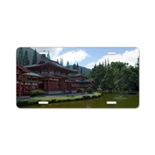 Byodo-In Buddhist Temple Aluminum License Plate