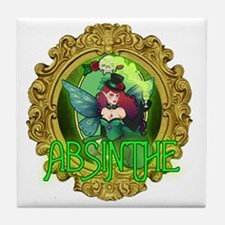 Absinthe Fairy Tile Coaster