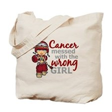 Multiple Myeloma Combat Girl Tote Bag