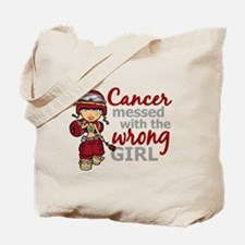 Multiple Myeloma Combat Girl Tote Bag