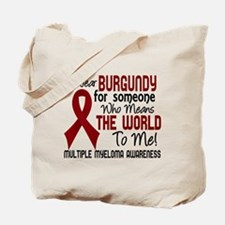 Multiple Myeloma Means World To Me 2 Tote Bag