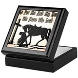 Cowboy and horse Keepsake Boxes