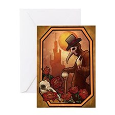 Plague Doctor 1 Greeting Card