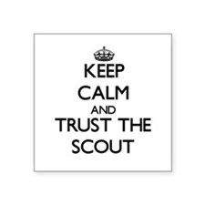 Keep Calm and Trust the Scout Sticker