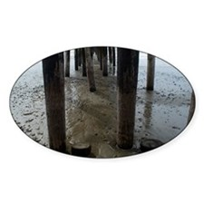 Wooden Legs Cayucos Pier Decal