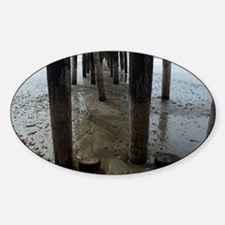 Wooden Legs Cayucos Pier Decal