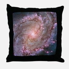 M83 Southern Pinwheel Galaxy Throw Pillow