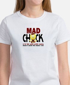 Multiple Myeloma Mad Chick 1 Women's T-Shirt