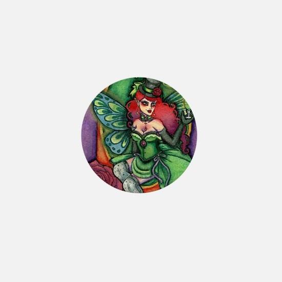 Absinthe Fairy 2 Mini Button