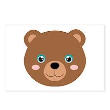 Cute Bear Cub Postcards (Package of 8)