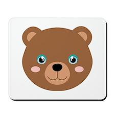 Cute Bear Cub Mousepad