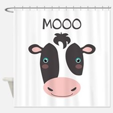 MOOO Shower Curtain