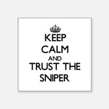 Keep Calm and Trust the Sniper Sticker