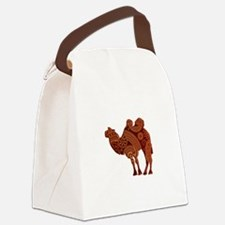 Camel Canvas Lunch Bag