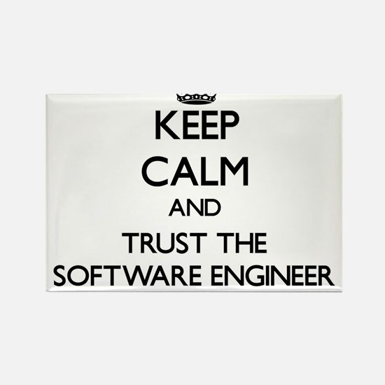 Keep Calm and Trust the Software Engineer Magnets